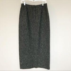 Lauren Ralph Lauren Wool Pencil Skirt Size 8